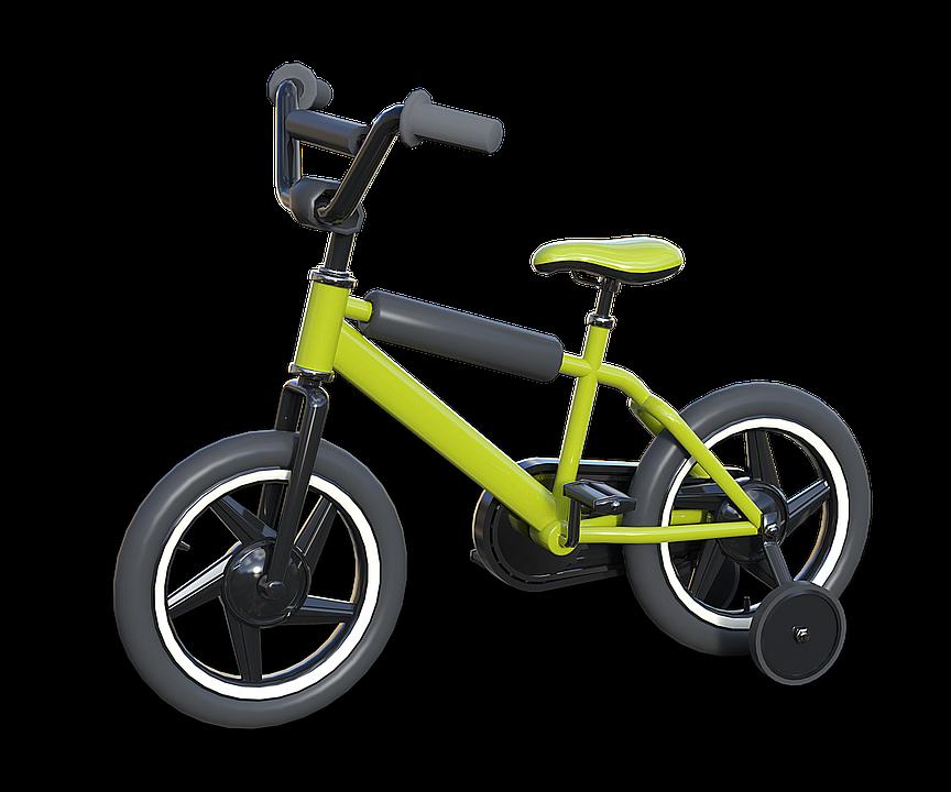 rower cztery kółka