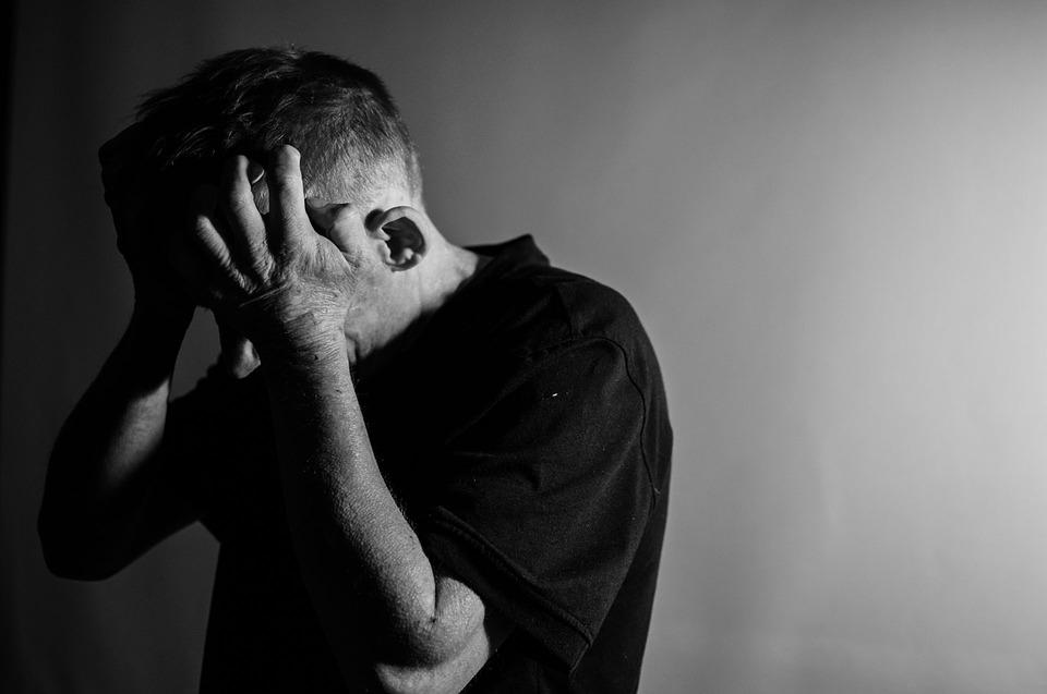 Osoba z depresją
