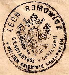 pieczęć notariusza