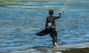 zajęcia z kitesurfingu