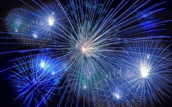 pokazy fajerwerków