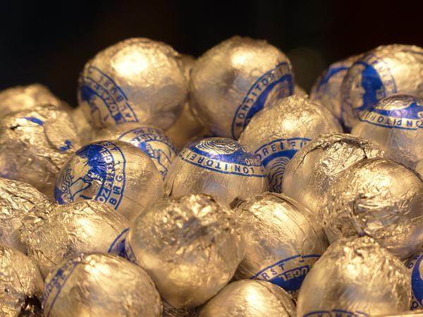 Personalizowane czekoladki dla gości weselnych