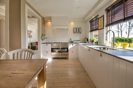 Stylowy stół skandynawski do kuchni